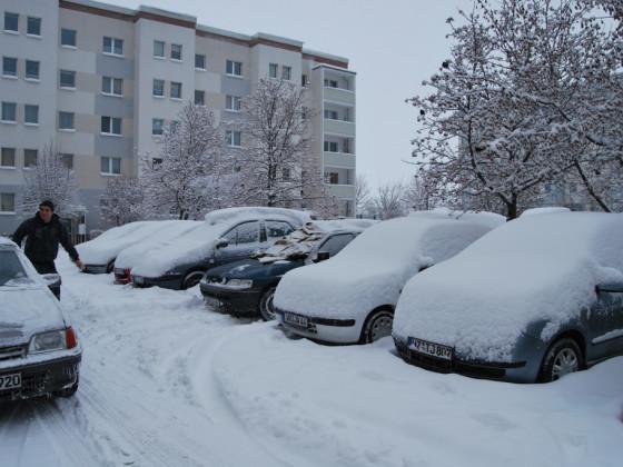 so siehts in Wernigerode aus wenn Winter ist